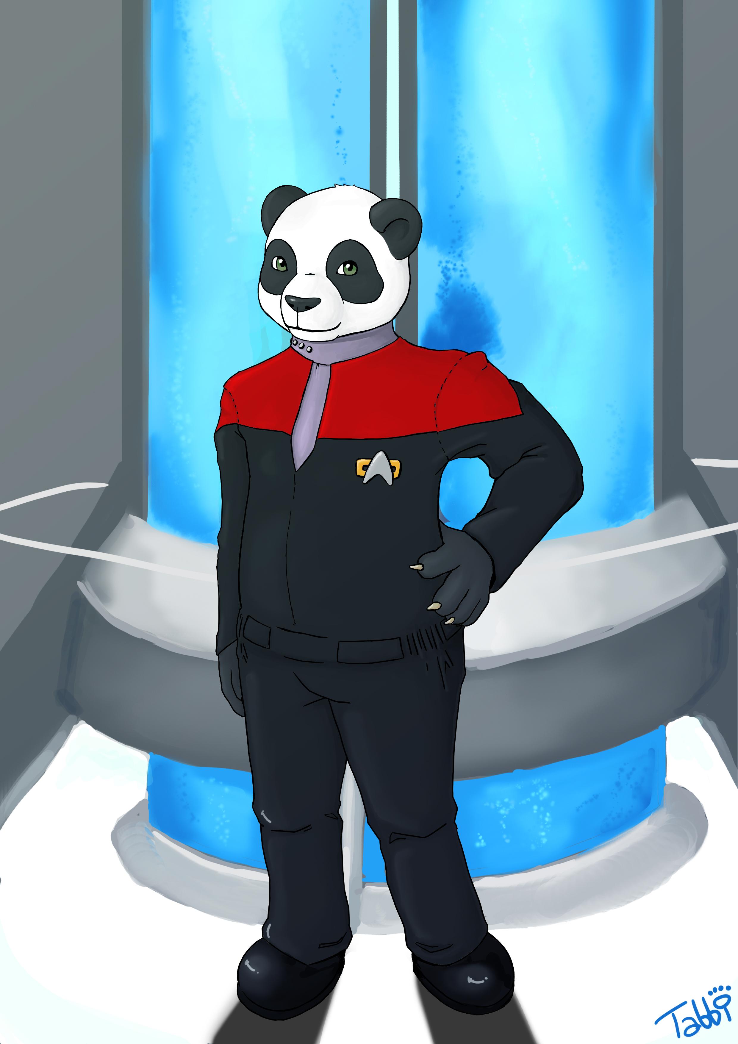 StarTrek Panda